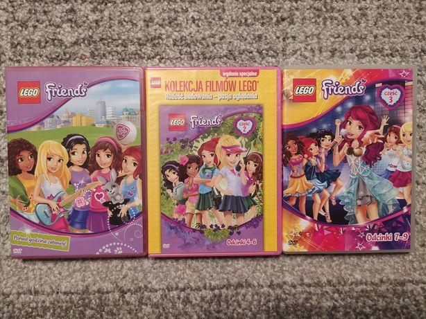 Filmy DVD Lego Friends i Barbie