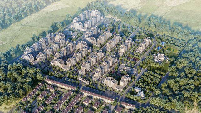 Продається квартира 41м2 в новобудові, 1 кімната, 6км від Києва