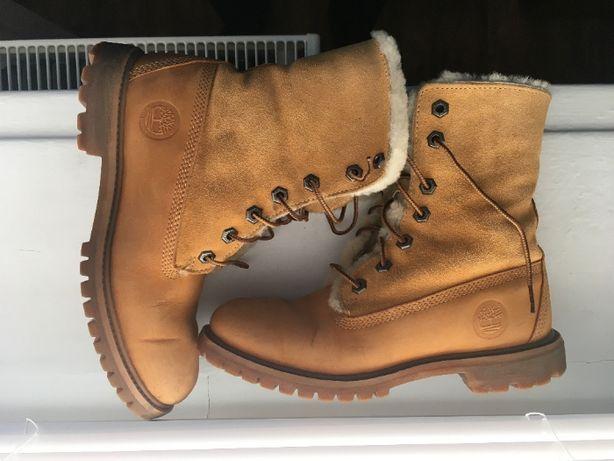 Ботинки Timberland ОРИГИНАЛ р 37/23 см тимберленд кожа женские зима