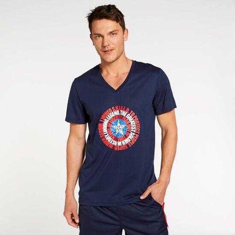 T-shirt Avengers Marvel azul