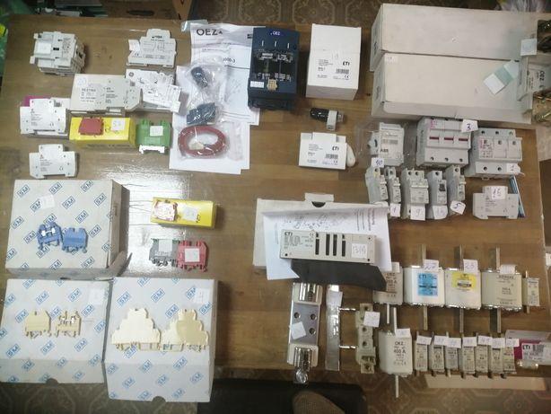 Электро-товары Разъединители предохранители клеммы реле  контакторы