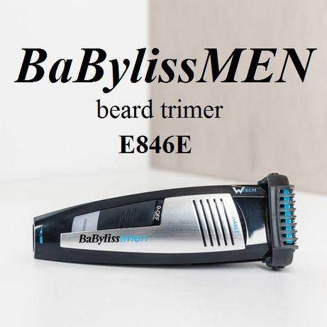 Триммер для бороди і вусів BaByliss E846E Оригінал Стайлер ГАРАНТІЯ