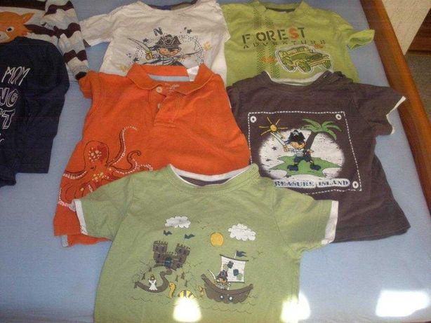 bluzki chłopięce letnie