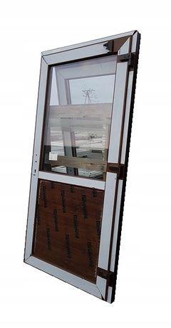 Drzwi Zewnętrzne PCV Sklepowe KACPRZAK 100x200