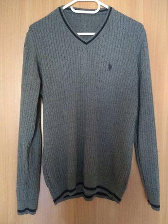 Ralph Lauren sweter męski 100% bawełna