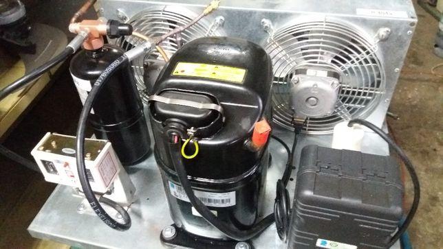 Używany agregat chłodniczy L'Unit CAJ4517Z parownik do chłodni