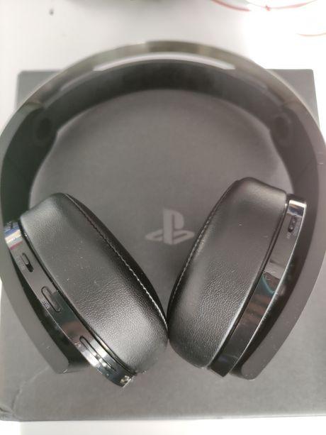 Słuchawki Sony PS4 Headset Platinium na Gwarancji
