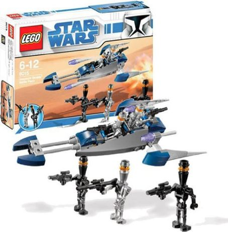 Lego star wars assassin droid battle pack 8015