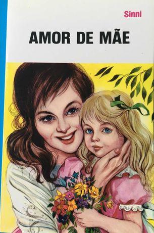 """Livro """"Amor de mãe"""" - novo"""