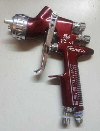 Pistola pintura profissional DeVILBISS GTI Pro 1.3 + T2