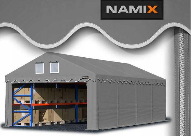 Namiot COMFORT 4x8 magazynowy handlowy garaż PVC 560g/m2