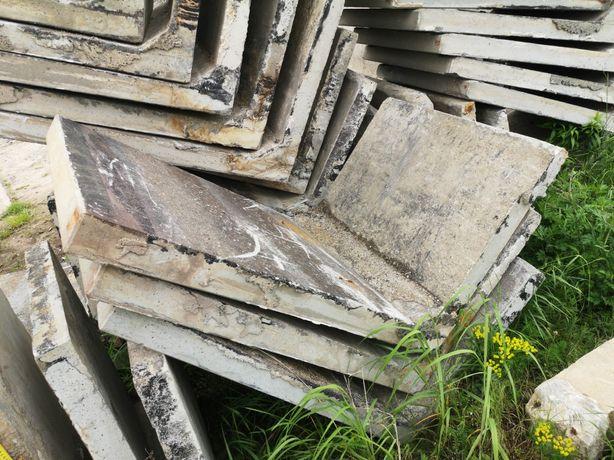 """Elki ,,L"""" Tetki ,,T"""" płyty betonowe Mury Oporowe Ściany Oporowe"""