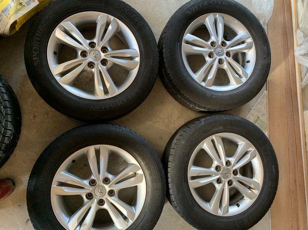 Колеса,диски,резина,літня,шини літо hundai ix35  225/60 r17