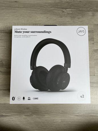 Słuchawki nauszne, Jays q-Seven Wireless, ANC, BT