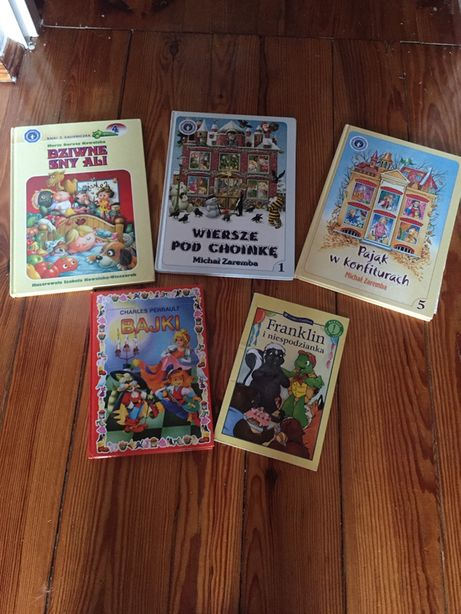 5 książek dla dzieci