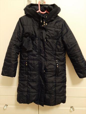 Płaszcz kurtka 51015 granatowy 5-6 lat