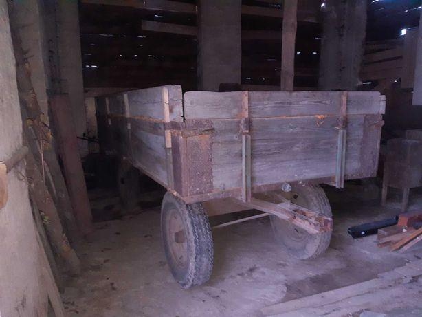 Przyczepa, wóz rolniczy, platforma (3t, 4t do ciagnika)
