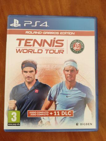 Jogos PS4 Tennis World Tour