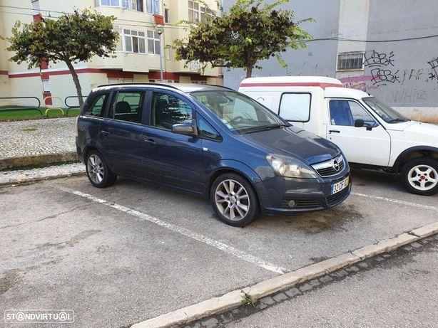Opel Zafira 1.9CDTI 7Lugares caixa automática
