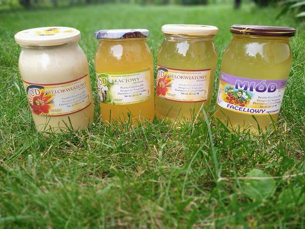 Miód pszczeli z własnej pasieki