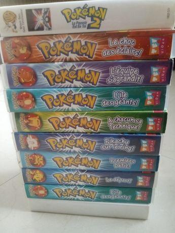 Kasety VHS pokemon-wersja francuska