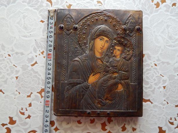 Икона Божьей Матери с камнями 23х19 (письмо) R