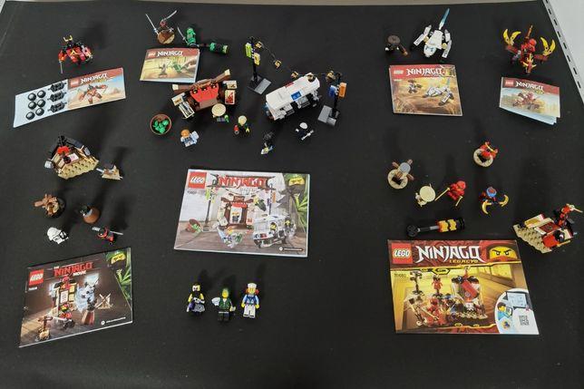 Conjunto Lego Ninjago.