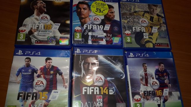 Gry PS 4 zestaw Fifa