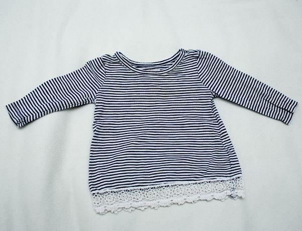 GAP BABY koszulka w paski 80 cm stan IDEALNY