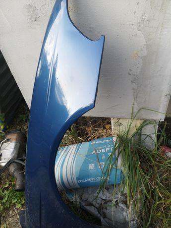 E39 topaz blau błotnik lewy