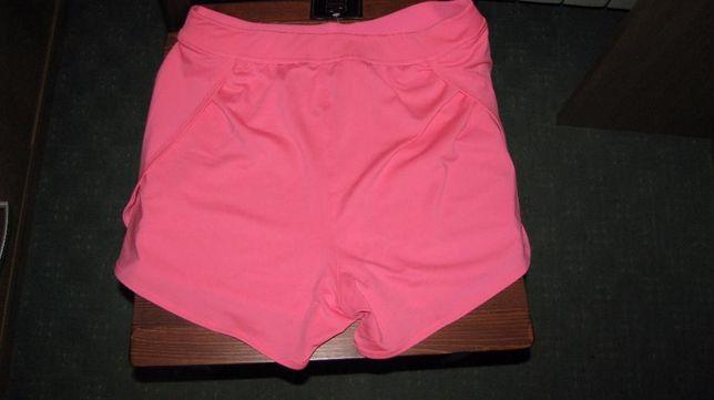 Różowe szorty sportowe M/L