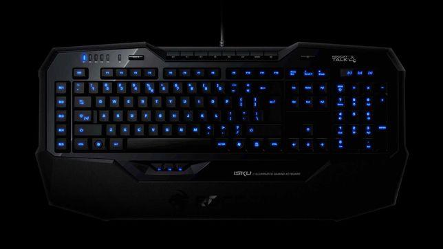 Teclado ROCCAT ISKU Backlight Azul Gaming USB