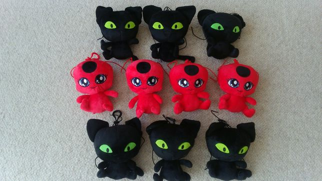 Miraculum, biedronka i czarny kot, plagg, tikki