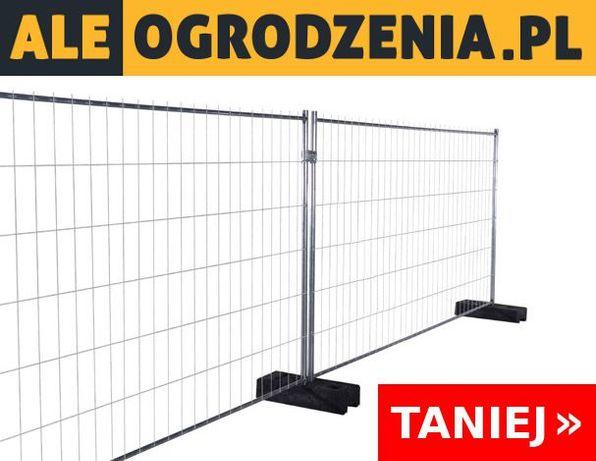 Ogrodzenie Tymczasowe Budowlane Ażurowe Gdańsk - KOMPLET