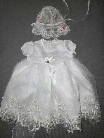 Sukienka do chrztu rozmiar 62 Nowa