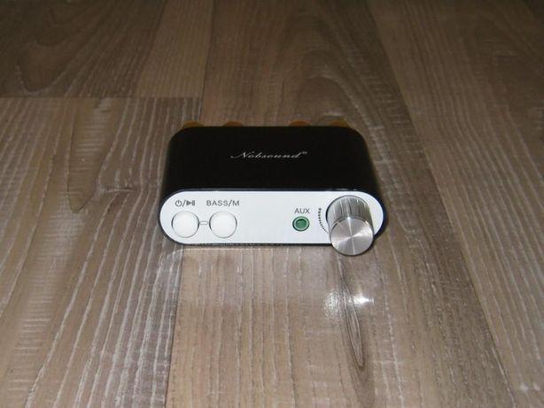 Mini wzmacniacz 2x50W z Bluetooth / Zrób kolumny - głośniki aktywne