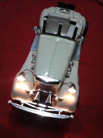 MERCEDES BENZ 540K 1937, Réplica de Carro Antigo - Relógio Despertador