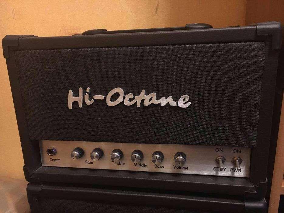 Lampowy wzmacniacz gitarowy Hi-Octane Siedlce - image 1
