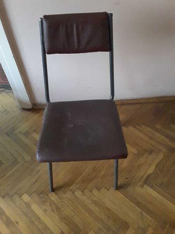 Krzesło metalowe PRL