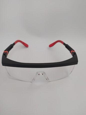Очки защитные TRIARMA c регулируемой дужкой. Прозрачные линзы.