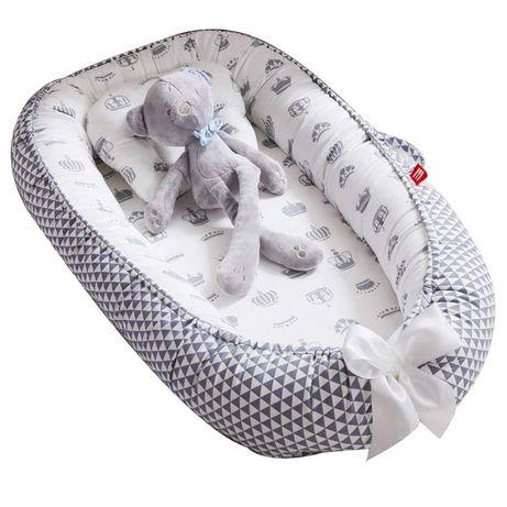 OUTLET - legowisko łóżeczko do spania dla dziecka niemowlaka kokon