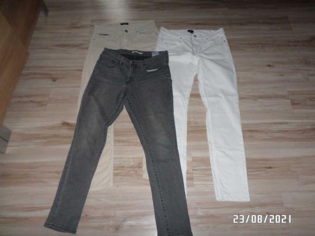3 pary firmowych spodni męskich -M/L-31