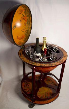 Глобус бар напольный для алкоголя