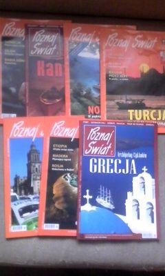 """7 książek z cyklu """"Poznaj Świat"""" WYSYŁKA"""