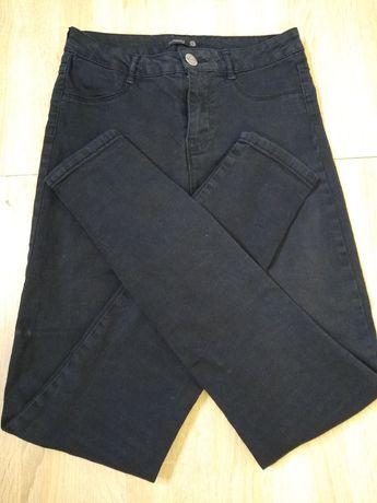 Czarne spodnie Sinsay, rozmiar S