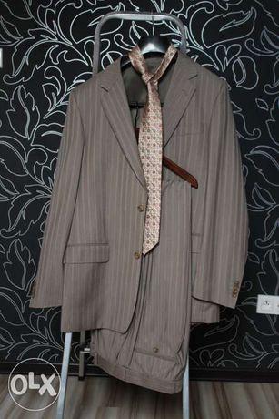 Garnitur męski - VIPO- roz.188/100/86 + krawat GRATIS