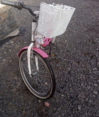 Sprzedam Rower dziewczęcy w dobrej stanie