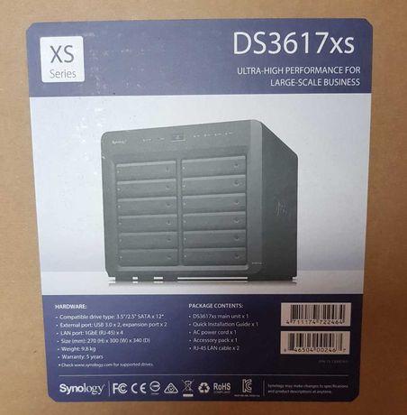 NAS Synology DS3617xs Сетевое хранилище Сервер Мережевий накопичувач
