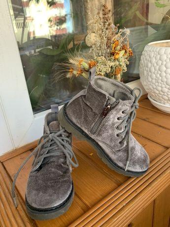 Велюровые ботинки, ZARA