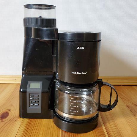 Кофемашина AEG с встроенной кофемолкой